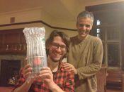 Fabian and Lourenco and the rum - photo copyright Milo McLaughlin