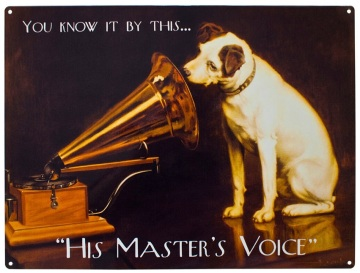 Vintage-Advertising-His-masters-Voice-10705