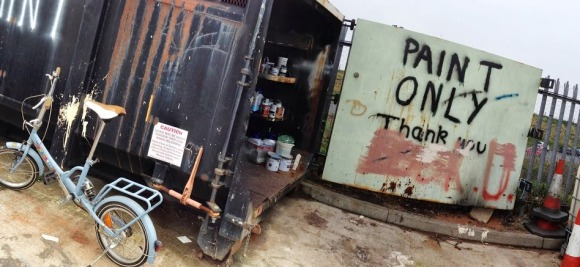 Paint Only - By Milo McLaughlin (taken at the dump!)