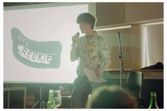 Michael Pederson at Glug Edinburgh - Photo by Ross Fraser McLean / StudioRoRo